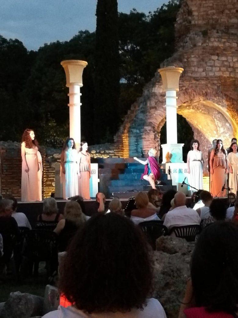 КУЛТУРА ВСЕКИ ДЕН Операта Орфей и Евридика от афиша на Римски терми