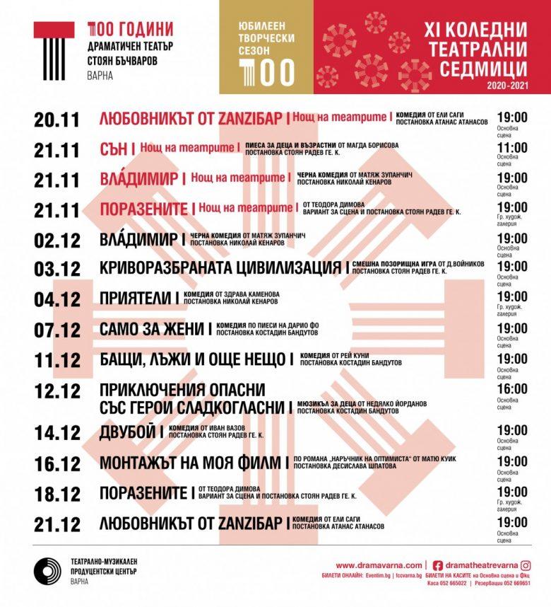 КУЛТУРА ВСЕКИ ДЕН XI Коледни театрални седмици