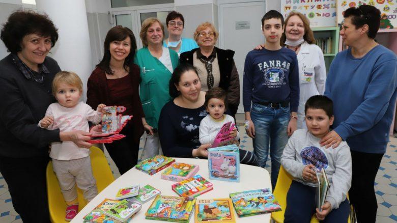 КУЛТУРА ВСЕКИ ДЕН Дарение от предаването Каста Дива за детското отделение на УМБАЛ Света Марина